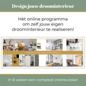 Design jouw droominterieur interieuropleiding