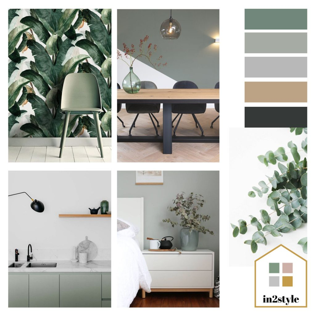 In2style Groen in je interieur