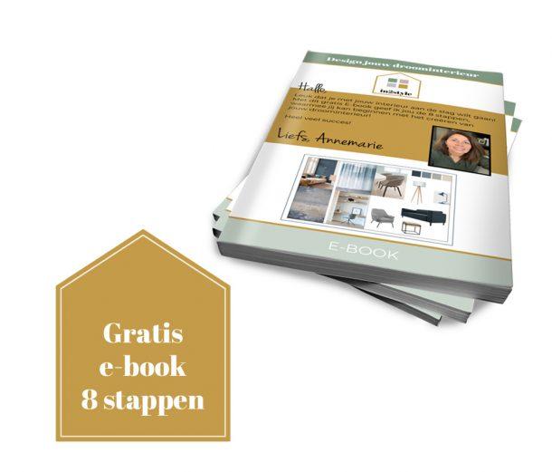 In2style gratis e book in 8 stappen jouw droominterieur