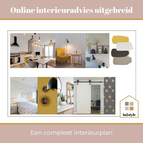 Online interieuradvies uitgebreid In2style