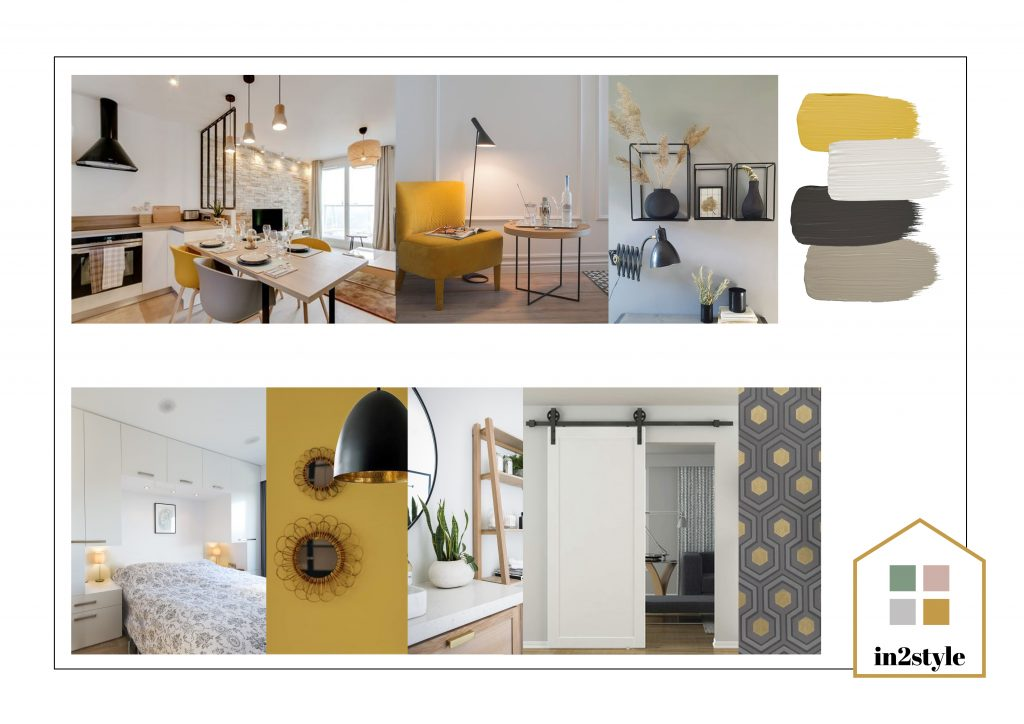 Online interieuradvies In2style moodboard