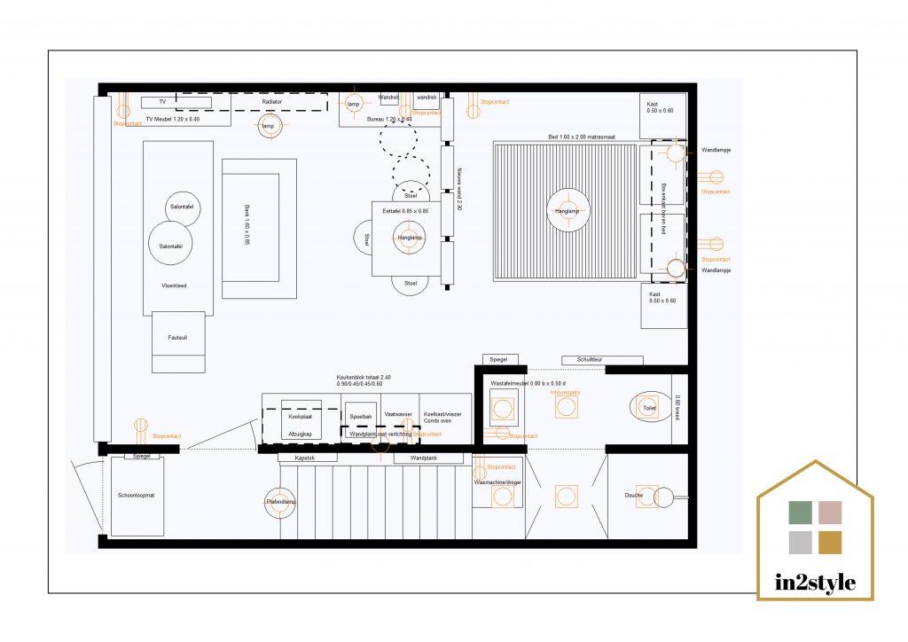 Online interieuradvies verlichtingsplan
